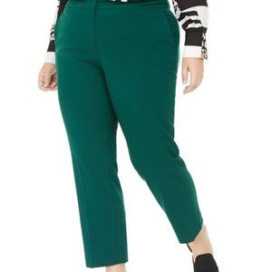 BAR III Womens Green Pants